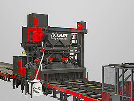 Roller conveyor machines